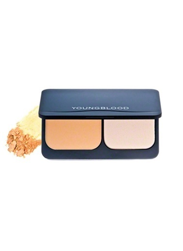 Young Blood YOUNGBLOOD Warm Beige Compact Mineral Fondoten (2008) Ten